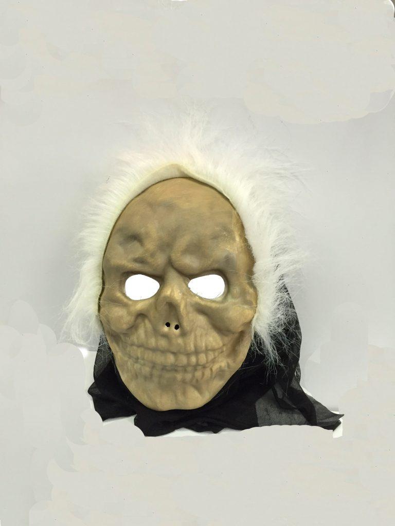 Beyaz Saçlı Mumya Maskesi
