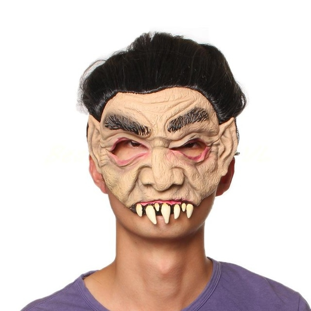 Halloween Buckteeth Lateks Maske