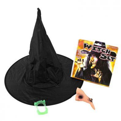 Şapkalı Cadı Seti