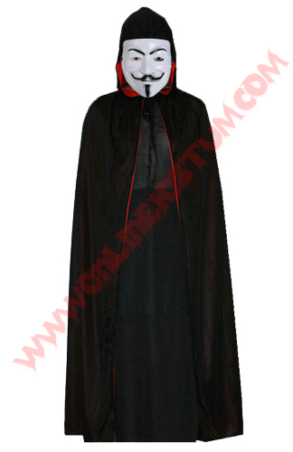 V For Vendetta Kıyafeti