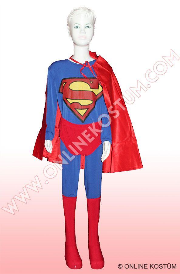 Süpermen Kostümü