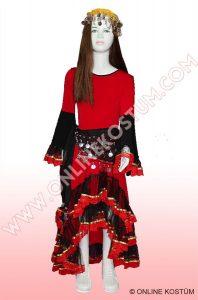 ispanyol Kız Kostümü