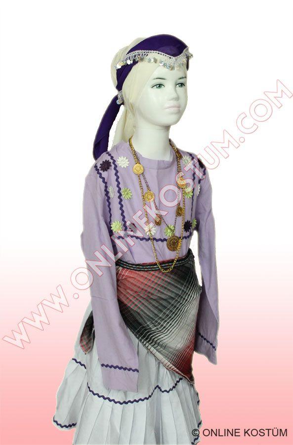 Karadeniz Yöresel Kostümü Kız