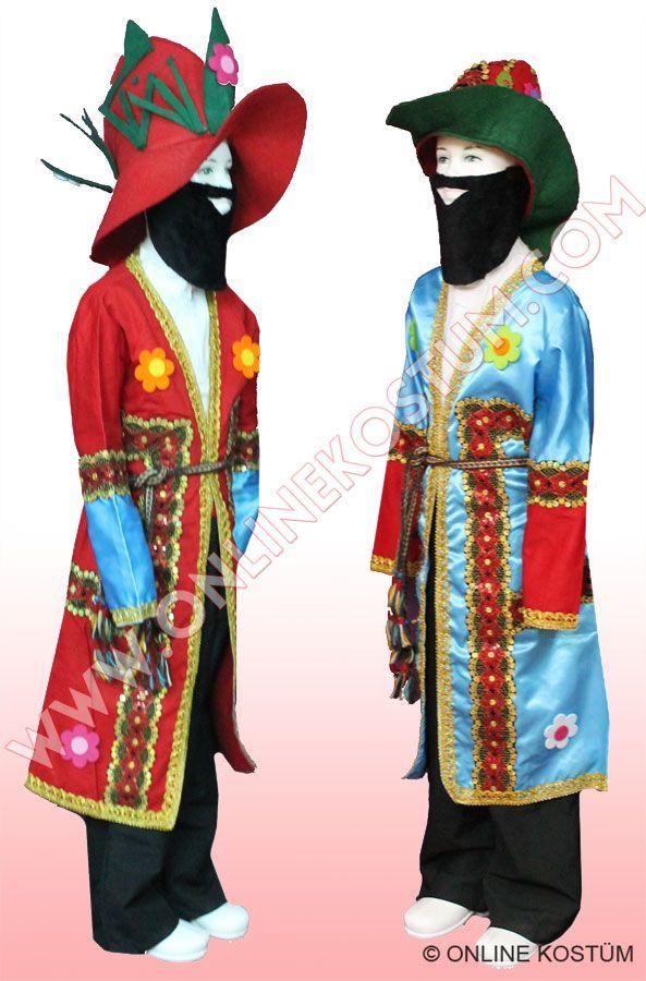 Karagöz Hacivat Kostümü