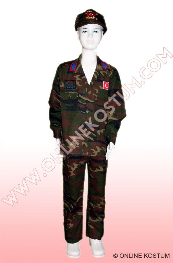 Komando Kostümü